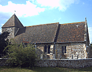 Church building Lancing